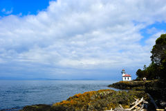 Lime Kiln Lighthouse Royalty Free Stock Photo