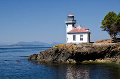 Lime Kiln Lighthouse, USA Stock Images