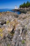 Lime Kiln Lighthouse, USA Royalty Free Stock Photo
