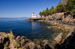 Lime Kiln Lighthouse, USA Stock Photo
