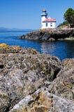Lime Kiln Lighthouse, USA Stock Photo