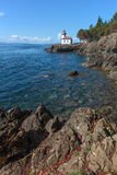 Lime Kiln Point Lighthouse Royalty Free Stock Image
