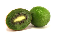 Lime and kiwi Stock Images