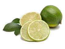 Lime and leaf Stock Images