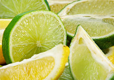 Lime & lemon Royalty Free Stock Photography