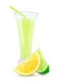 Lime-lemon juice Stock Images