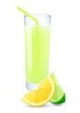 Lime-lemon juice Stock Photo