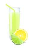Lime-lemon juice Royalty Free Stock Image