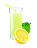 Lime-lemon juice Royalty Free Stock Images