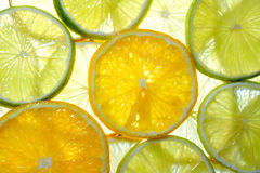 Lime, lemon and orange Stock Photo