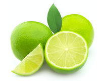 Lime with life Stock Images
