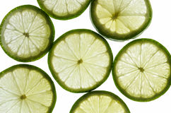 Lime on Light Stock Photography