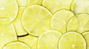 Lime, Lime Slices, Citrus Fruit Stock Photos