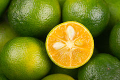 Lime. A macro type fresh lime shot Stock Photo