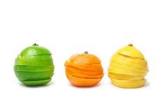 Lime mandarine limon Stock Images
