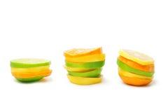 Lime mandarine limon Stock Photography