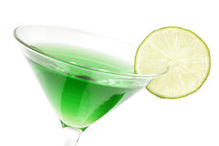 Lime Martini stock photo
