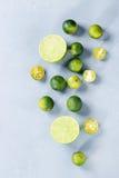 Lime and mini limes Stock Photo