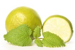 Lime and mint Royalty Free Stock Images