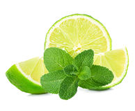 Lime and mint Stock Images