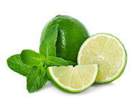 Lime and mint Royalty Free Stock Photo