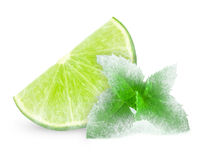 Lime and mint Royalty Free Stock Image