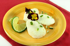 Lime mousse Stock Image