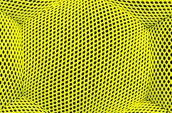 Lime nylon texture designed as net Royalty Free Stock Photo