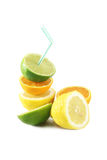 Lime, orange, lemon Stock Photography