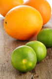 Lime and orange Stock Photography