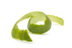 Lime peel Royalty Free Stock Images