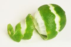 Lime Peel Stock Images