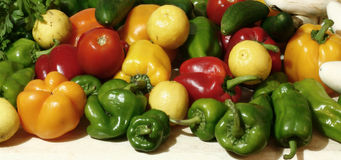 Lime and pepper Royalty Free Stock Photos