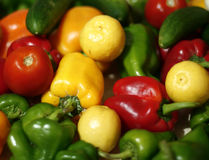 Lime and pepper Royalty Free Stock Photo