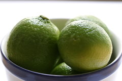 Lime in the plate Royalty Free Stock Photos