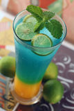 Lime punch. Fresh lime punch cold drink stock image
