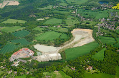 Lime Quarry and Brickworks, Betchworth, Surrey Royalty Free Stock Image