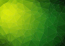 Lime reen bright abstract triangle image. For web design Royalty Free Stock Photography