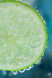 Lime refresher concept Royalty Free Stock Photography