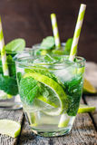 Lime refreshment Royalty Free Stock Image