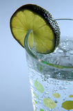 Lime seltzer III Stock Photography
