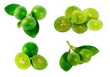 Lime set Royalty Free Stock Photo