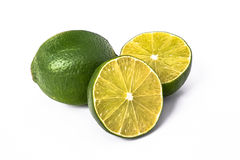 Lime. Is a shrubby tree,that grows to 5 m,with many thorns.It's fruit is 2.5-5 cm in diameter Stock Photo