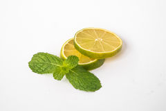 Lime. Is a shrubby tree,that grows to 5 m.,with many thorns.It's fruit is 2.5-5 in diameter Royalty Free Stock Photos