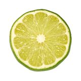 Lime Slice. Isolated on a white background. Isolation is on a transparent layer in the PNG format royalty free stock photos