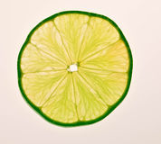 Lime Slice Stock Image