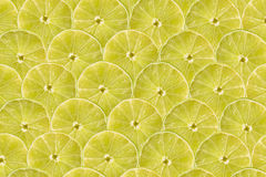 Lime Slice Abstract Seamless Pattern Stock Photography