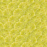 Lime Slice Abstract Seamless Pattern Stock Photo
