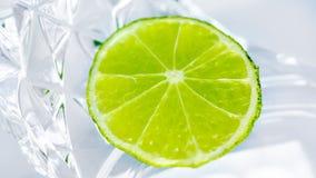Lime slice Stock Photos