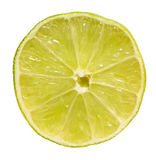 Lime Slice Isolated Stock Images